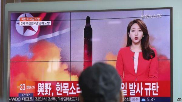 骨折り損のくだびれもうけ....(⌒‐⌒) ! (⌒‐⌒) ! (⌒‐⌒) ! 北朝鮮新型中距離弾道ミサイルを日本海に発射した