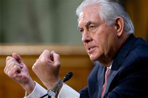 ティラーソン氏のアジア歴訪は、北朝鮮の命運を左右しそうだ(AP)