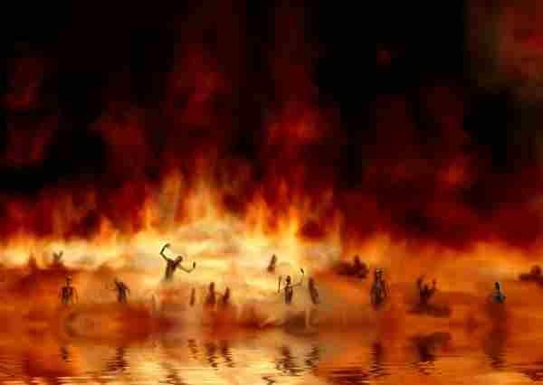 日本は火の海に落ちる
