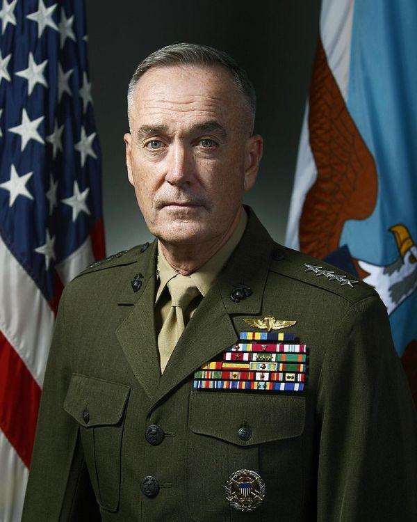 米軍のダンフォード統合参謀本部議長