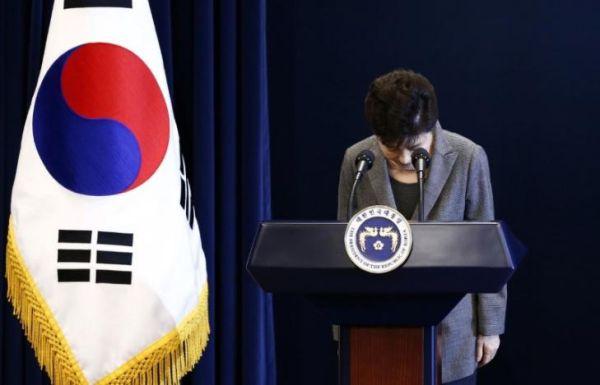 朴槿恵....現職大統領の弾劾成立は初めてとなる