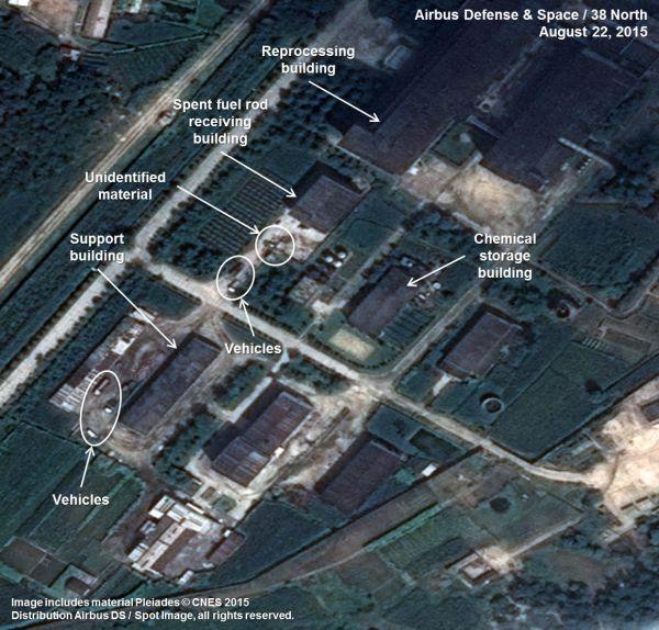 北朝鮮の核・軍事施設