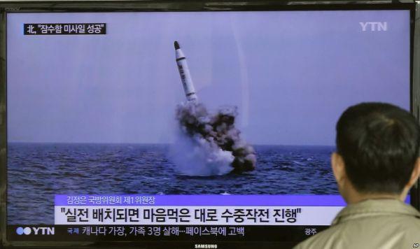 潜水艦搭載型発射型(SLBM)