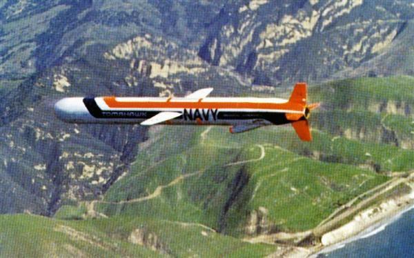 米軍の巡航ミサイル「トマホーク」