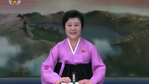 """『 うちの将軍様, """"外交的勝利""""を得た ! おめでとうございます ! 』 「毎日」も「特別重大報道」を行うの「特別放送者」"""