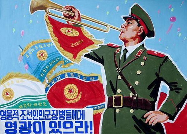 北朝鮮 :「一撃で水葬してしまう戦闘準備を整えた」....ワハハハ ! 何時もの様の法螺を吹く !