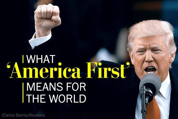 『アメリカ・ファースト』を掲げるだけに強硬姿勢は口先だけで、実際は中東や北朝鮮に介入...いいね !!!