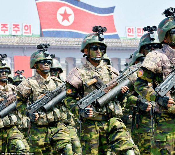 これが多分北朝鮮最後の「建軍節」記念日かもしれません...! (*´◡`*) !