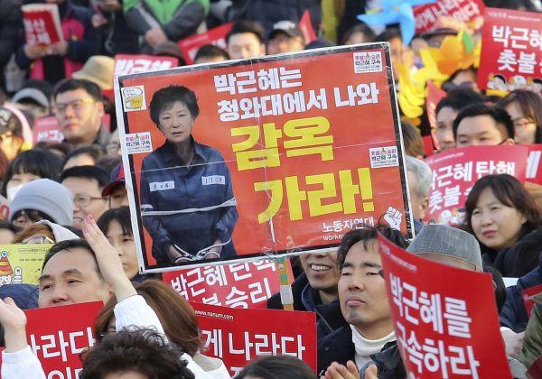 韓国の大統領....今牢屋にいる