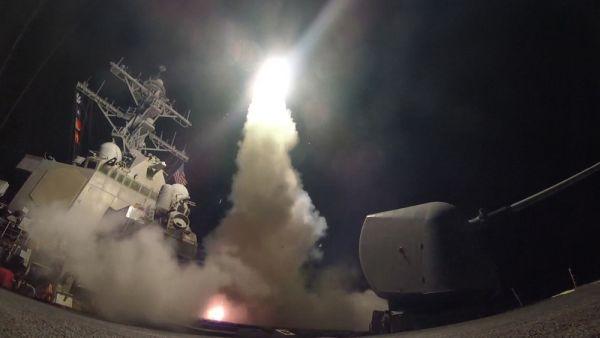 59発の巡航ミサイルを撃ち込んだ