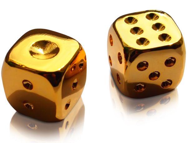 サイコロ大の金塊