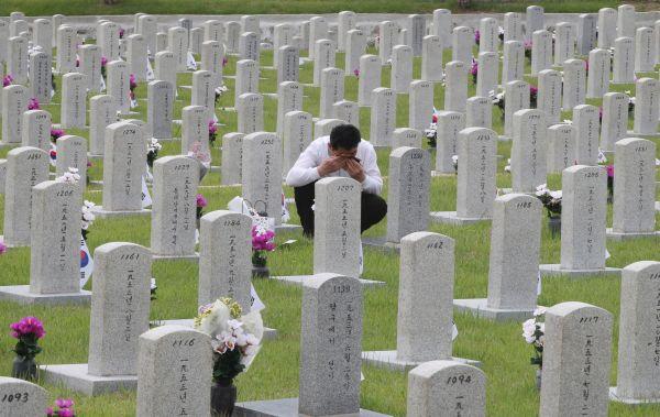 最初の90日間で韓国兵の死傷者が49万人