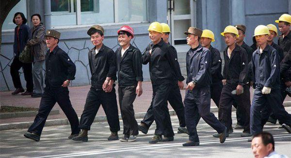 ロシアのウラジオストク....ロシアで林業に従事していた北朝鮮労働者