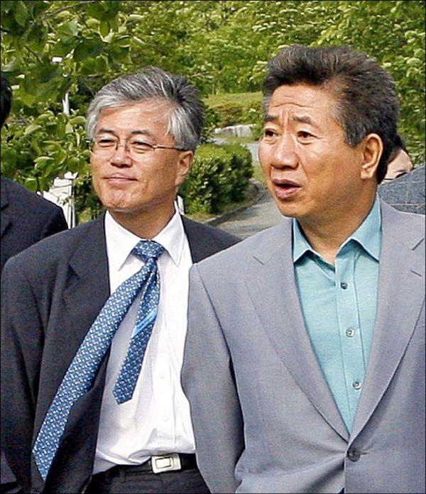極左自殺したの盧武鉉と文在寅