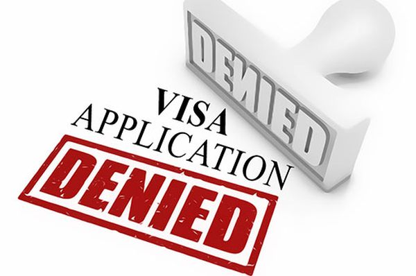 入国ビザの発給を拒否 ! ごめん,「テロ支援国家」からの人間... 立入禁止 !!!