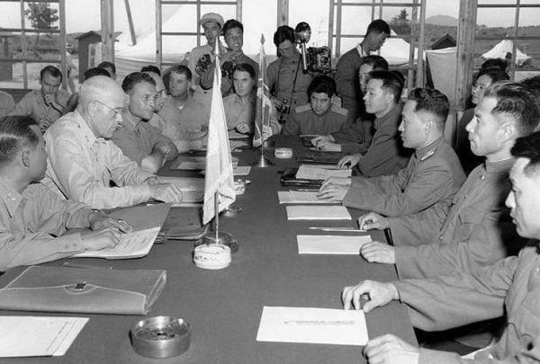 朝鮮戦争休戦