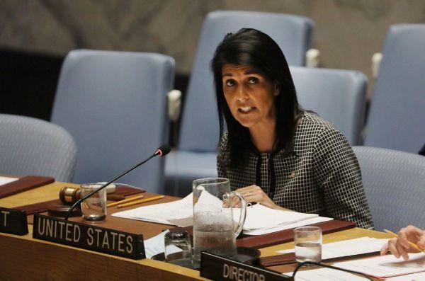 アメリカのヘイリー国連大使は「今回のミサイル発射は、世界の全ての国に対する脅威だ !」