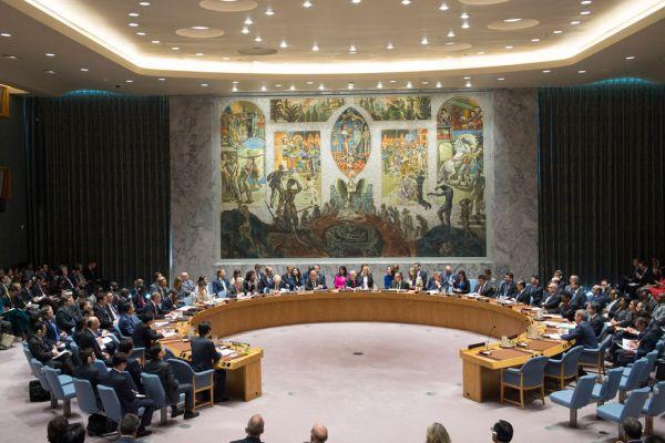 北朝鮮による弾道ミサイル発射を受け、国連の安全保障理事会の緊急会合