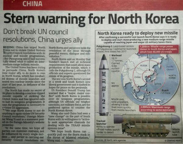 今回共産中国も「デブ金」に国連安全保障理事会の ルールに従ってくれ...