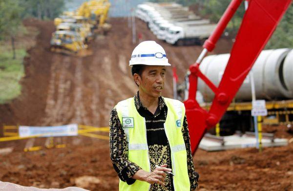 用地買収問題.....インドネシアの大統領ジョコ・ウィドド