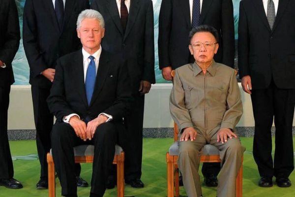 北朝鮮の「人質外交」....クリントン元大統領と北朝鮮の大悪魔