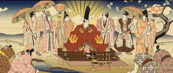 日本の国民が大昔からも天皇を尊重する