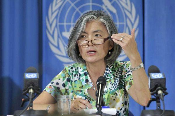 康京和(カン・ギョンファ)前国連事務総長特別顧問