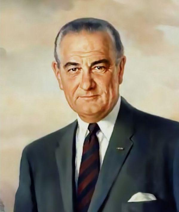 米国の第36代大統領、リンドン・B・ジョンソン