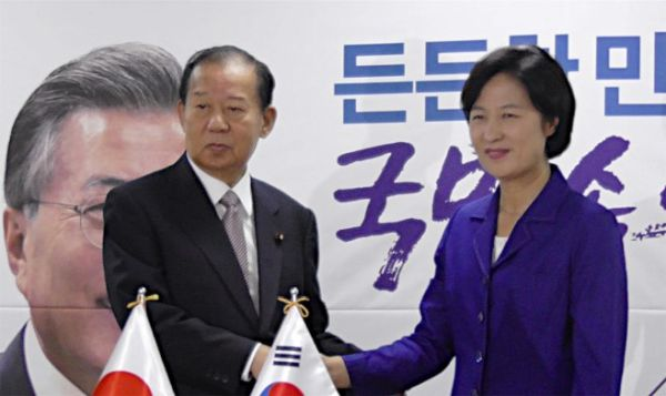 韓国与党「共に民主党」の秋美愛(チュ・ミエ)代表は、「日韓慰安婦合意は、あってはならない内容が盛り込まれており、当然無効で、再協議すべきだ」と述べた 馬鹿馬鹿しい !!!