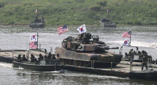 在韓米軍撤退....