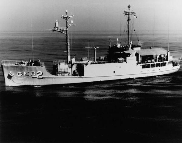 米海軍情報収集艦「プエブロ号」