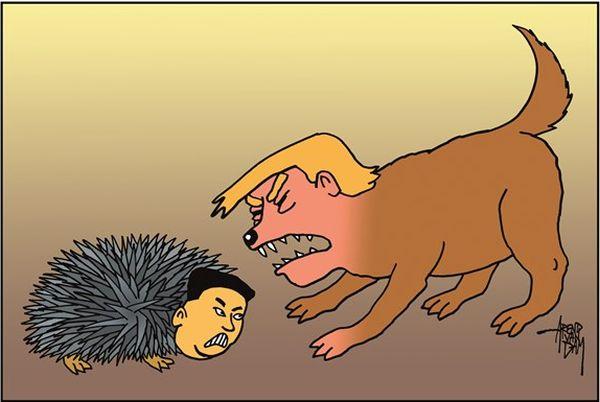 狂犬 :『このパンゴリン ! 困ったもん !』