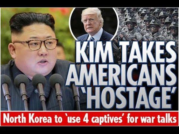 北朝鲜....国所得の主な源泉 = 人質の身代金