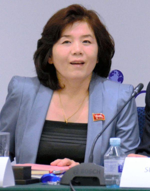 北朝鮮外務省の崔善姫(チェ・ソンヒ)米州局長