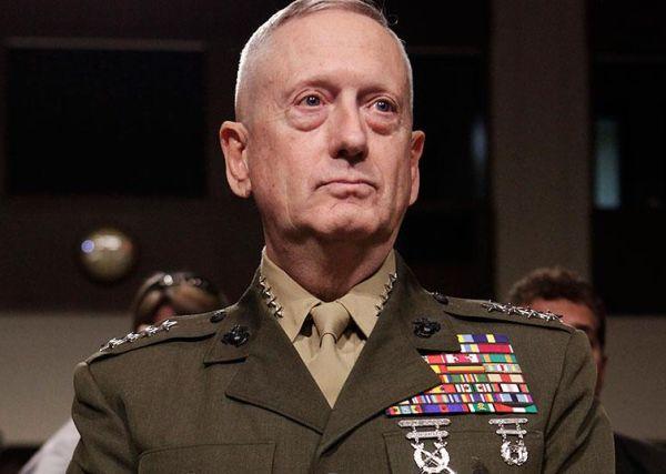 「狂犬」のジェームズ・マティス国防長官