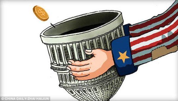 米国が自己負担する費用は1000億ドル