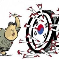 韓国大統領 :『心配無用 ! 心配無用 ! これが挑発行為じゃないわ ! 』