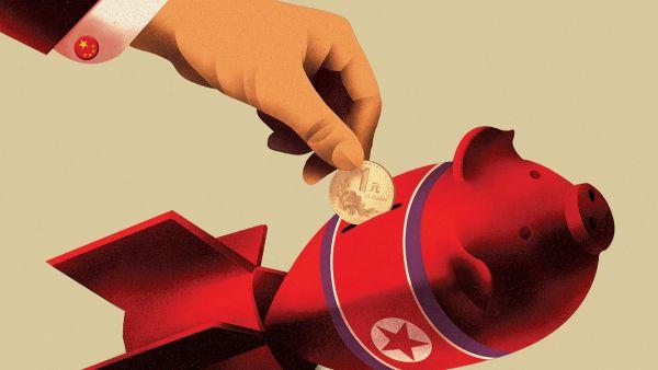ミサイル開発を支援するの中国企業