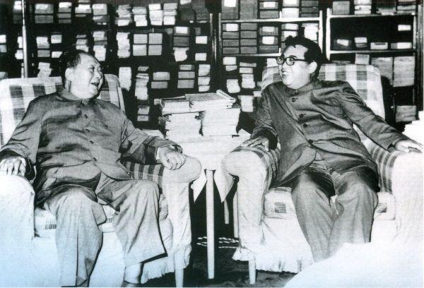 従来の立場, 血の同盟国 =「何があっても, 中国は北朝鮮を守る!」,大悪魔二人の : 毛沢東と金日成