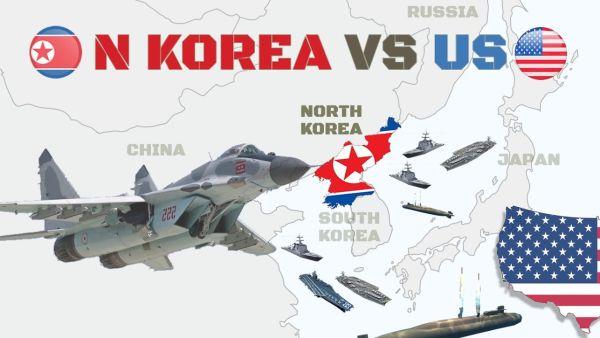 北朝鮮対アメリカ......大虐殺 !