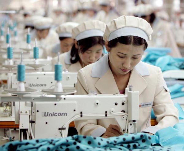 北朝鮮製の繊維製品