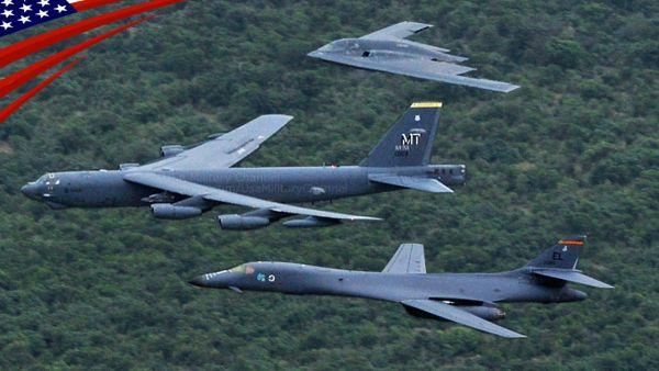 デブ悪夢の始まり !!! こいつが最も恐れるの「爆撃機」....B-52 B-1 B-2 戦略爆撃機 ! もうすぐもやっとくるかね ! いいね !!!