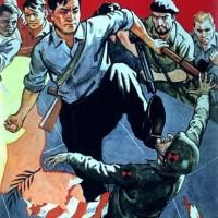 平壌市民は「敬愛する金正恩同志さえ信じていれば、われわれはいつも勝利する」、「私は、手に復讐(ふくしゅう)の銃槍を握り締め、トランプをはじめ、米帝侵略者を全員打ちのめす信念で、満ちあふれている」などと話した