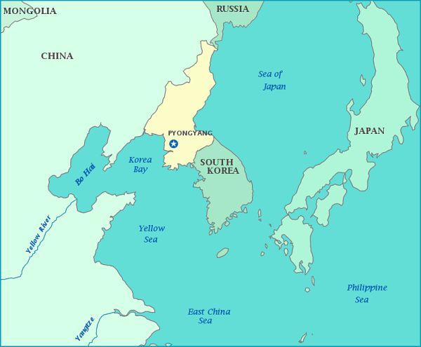 日本の表面積は北朝鮮と南朝鮮を合わせたものよりも大きい.....でもさ, 消えちゃった !