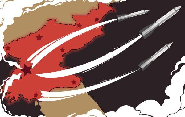 核実験、ミサイル発射実験を繰り返すの北朝鮮