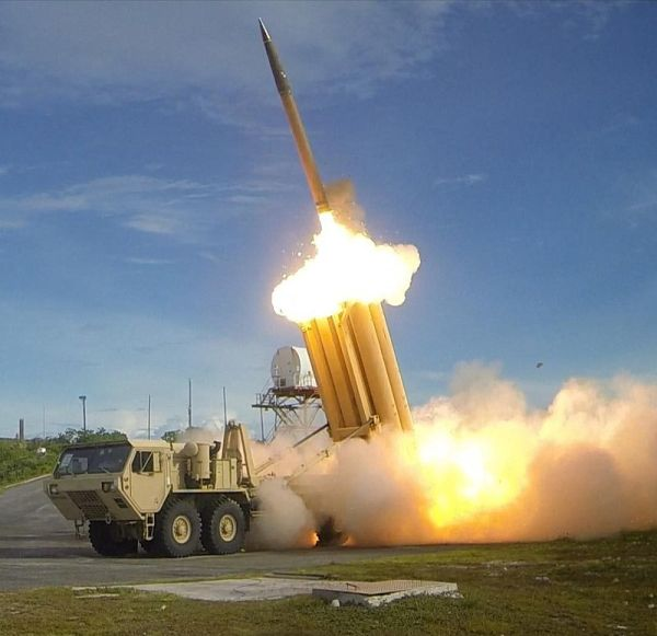 「THAAD(高高度防衛ミサイル)」