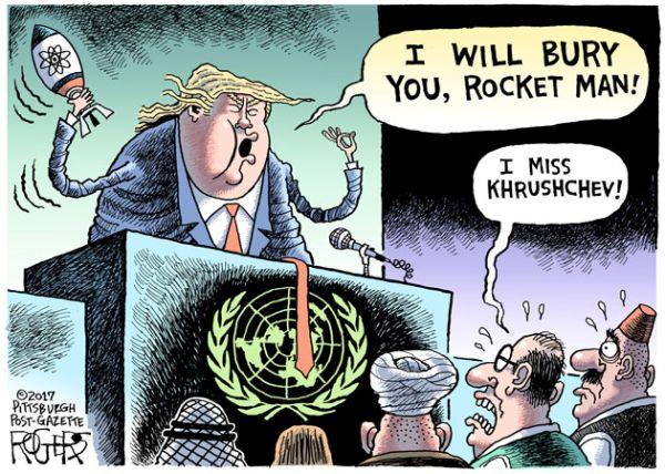 トランプ大統領 :『彼らは, この先, 長くはないだろう!』