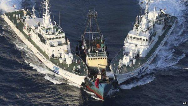 東シナ海, 尖閣諸島海域で頻繁の紛争