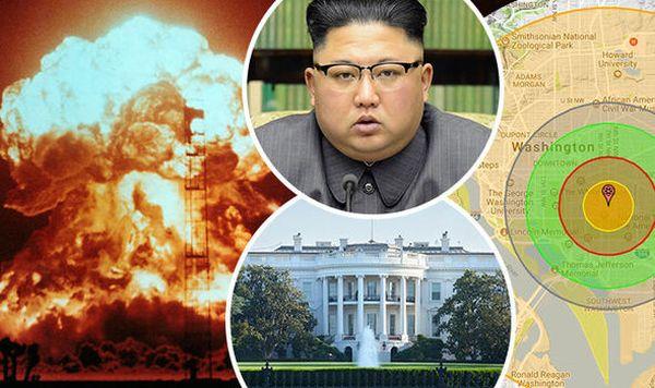 金正恩 : 『 核爆弾をワシントンDCを攻撃する !』