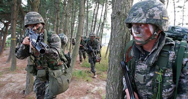 韓国新成立の「幽霊」海兵隊部隊